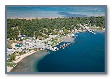St. James marinas & docks on Beaver Island