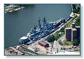 USS Sullivans & USS Little Rock at the Naval Park in Buffalo, NY