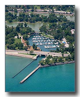 Aerial View Of 59th St Harbor