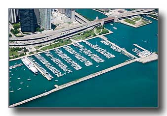 DuSable Harbor in Chicago