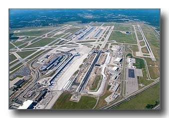 Detroit Metro Airport runway repair