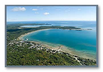 Aerial Photos Of Door County Wisconsin
