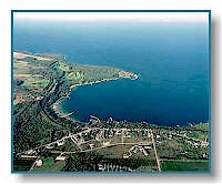 Egg Harbor aerial photo