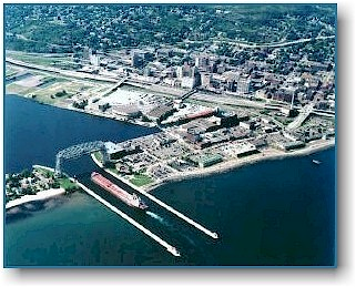 Duluth aerial photo