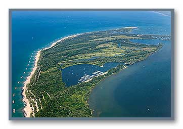 Presque Isle, PA, aerial photo
