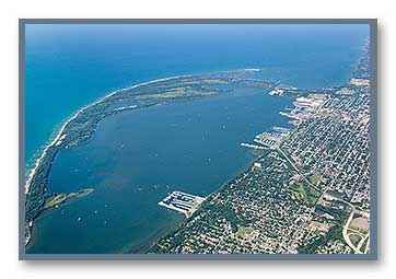 Erie, PA, Aerial Photo