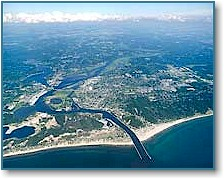 High View of Grand Haven, MI