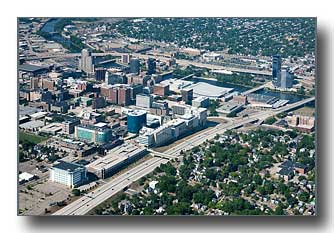 Downtown Grand Rapids, MI and the Medical Mile