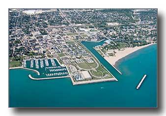 Kenosha, Wisconsin, Aerial Photos