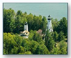 Michigan Island Lighthouses