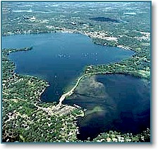 Grays Bay and Wayzata Bay, Lake Minnetonka