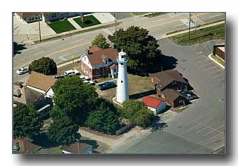 The Old Munising Lighthouse