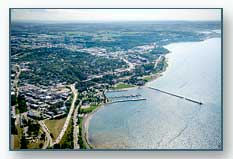 Petoskey looking southwest