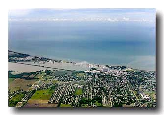 Port Clinton Aerial View