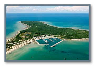 Presque Isle Aerial Photo