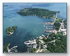 Another aerial view of Put-in-Bay Harbor