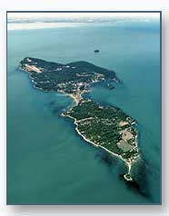 Aerial of South Bass Island