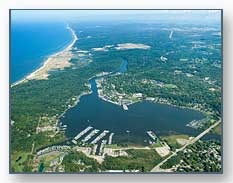 Saugatuck, Douglas, and Kalamazoo Lake