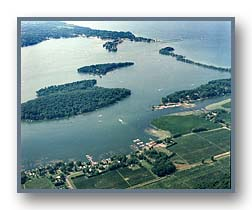 Sodus Bay looking northwest