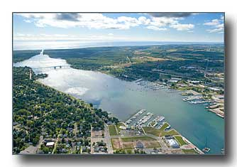 Sturgeon Bay looking east