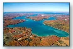 Walloon Lake in the fall