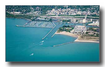 Waukegan harbor