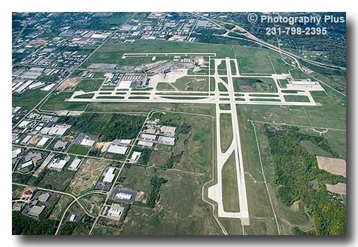 Aerial Photo Of The Gerald R Ford Airport In Grand Rapids