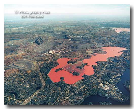 Aerial Photo Of The Tilden Iron Mine And Schweitzers Basin