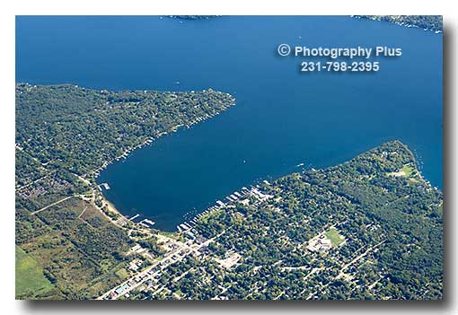 Aerial Photo Of Williams Bay Wisconsin On The North Shore
