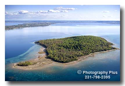 An Aerial View Of Marion Island Also Known As Power